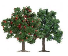 Busch 6649 - 2 árboles frutales HO / TT / N 75 mm