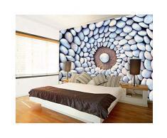 Pbldb 5D Mural Fondo De Piedra Adoquín 3D Mural De La Pared Papel De Pared Para La Sala De Pared 3D Foto Murales De Papel Tapiz-250X175Cm