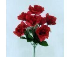 Ramo artificial abierto de rosas para tumba u hogar