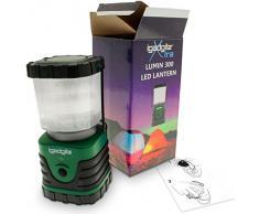 igadgitz Xtra Lumin 300 Portátil 300lm LED Linterna Camping con Garantía de 1 Año