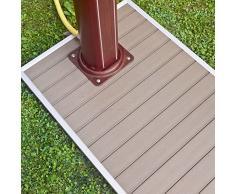 Gre - Base para ducha solar 90 x 60 cm