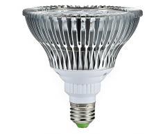 Mudder E27 12W LED crece 45mil Luz para Angiosperma, Sistema de Hidroponía y hortalizas, de ahorro de energía Downlight Proyector para jardín, Patio