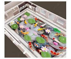Papel tapiz fotográfico personalizado 3d suelo etiqueta de la pared adoquín estanque de peces estéreo HD pintura de piso pisos autoadhesivos decoración del hogar-300 * 210 cm