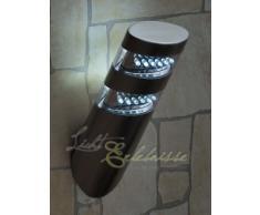 Moderna Lámpara de Pared / LED / Iluminación Exterior IP44 / Acero Inoxidable 8301n