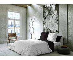 NATURALS Funda nórdica Bicolor Reversible Cama 150 cm Blanco/Negro