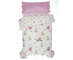 DECORACION NUEVO ESTILO- CLOE, funda nórdica infantil para cama de 90 cms, medida 150 x 240