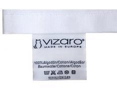 Vizaro - Relleno Nórdico 300g (90x120cm) para CUNA (60x120cm) + Almohada, Transpirable, Lavable - INVIERNO y ENTRETIEMPO, Muy Cálido - Edredón - - 100% Algodón - Hecho en UE con control de sustancias nocivas - Producto SEGURO: