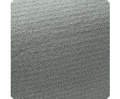 Beautissu XXL Manta de sofá y Cama Aurelia Suave cálida 220x240cm Microfibra Forro Polar Coral ÖKO-Tex Gris Claro
