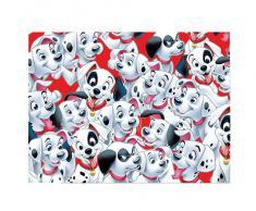 Mantel de plástico desechable 101 Dálmatas para fiestas temáticas dálmata 120x180 cm