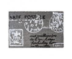 Felpudo Confección a base de fibras de coco Forma rectangular 40 x 60 cm Carta