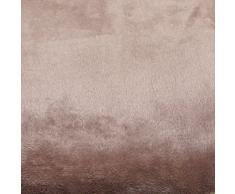 Just contemplo 55,88 cm x 55,88 cm poliéster Funda para cojín de imitación de Cachemira Funda para cojín - cojín de visón Muy Suave sofá Cama Funda, Beige
