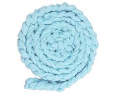 Alfombra de bebe - TOOGOO(R) alfombra de manta suave de bebe para fotografia de color azul claro