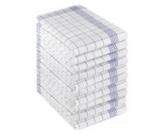 Tobeni - Paños de cocina, 10 unidades azul Talla:50 cm x 70 cm
