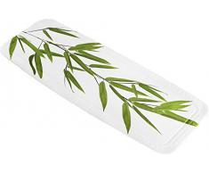 Kleine Wolke 5380600001 - Alfombrilla para bañera (36 x 92 cm), diseño de bambú, color verde