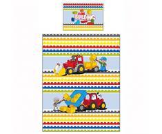 LEGO Duplo bloques grandes impresión ropa de cama infantil, multicolor