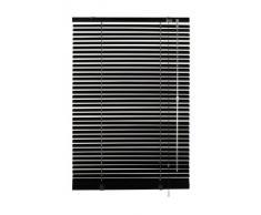 Gardinia 6192 Jalousie - Persiana (aluminio, 25 mm, 100 x 175 cm), color negro