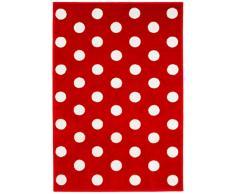 Kit for Kids MAT9001 - Tapete de decoración, 100 x 150 cm, color rojo