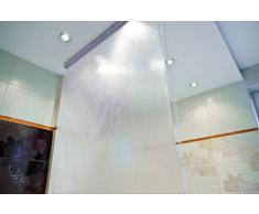 Estor para ducha (enrollable, peva, 100 x 240 cm)