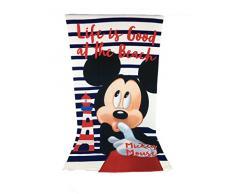 Toalla de playa - Toalla de baño - 70 x 140 cm microfibra - Mickey - Disney