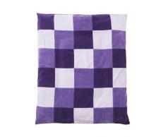 Jollein Parque infantil manta 85 x 105 cm Colourful a cuadros violeta