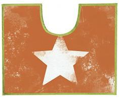Gelco Design 708644 alfombra Contour WC naranja 50 x 40 cm