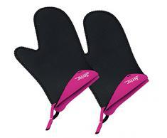 Spring 2094054902 Grips - Manoplas de cocina cortas (1 par), color rosa