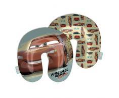 ARDITEX WD12640 Cojín para el Cuello de 33x33x6cm de Disney-Pixar-Cars