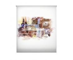 Blindecor Estor enrollable translúcido digital, Urban,W-U-57737,150X180 cm