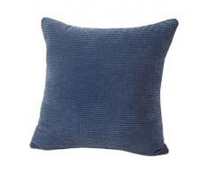 Fundas De Cojines,Xinantime Almohada decorativa de la pana de algodón Cojín Multicolor (Azul)