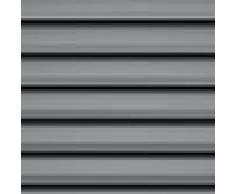 Original Velux con el estándar de la persiana estor PAL SK06 7012S de madera de colour gris para GGL GPL GHL SK06 con rieles de aluminio