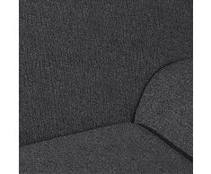 Casa Textil Daniela - Funda para sofá, 4 plazas, color gris