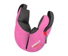 SANDINI SleepFix® Kids Outlast® – Almohada para niños/Almohada para el cuello con función de soporte y compensación térmica – Accesorio para asientos infantiles para automóvil/bicicleta/viaje