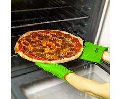 Molecule de silicona guantes para asar, hornear guantes 1 par, barbacoa guantes y agarraderas perfecto anti-calor, resistencia a altas temperaturas, buena herramienta para la cocina-a prueba de agua hirviendo, de un tamaño más