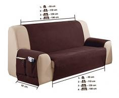 Cubre sofá Sira Tamaño 3 plazas (150 Cm.), Color 01 (varios colores disponibles)