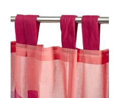 Psyche (-Cortina 250 x 110 cm, color rosa,) de Estilo: diseño infantil