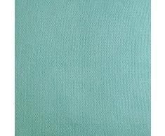 Topfinel juego 2 Fundas cojines Cama Sofas de Chenilla Algodón Lino duradero Almohadas Decorativa de color sólido Para Sala de Estar, sofás, camas, sillas Dormitorio Jardín Coche 65x65cm Azul