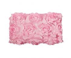 contorno tapa Bearbae Juego de 16 piezas de alfombrillas de ba/ño para ni/ñas juego de cortinas de ducha decoraci/ón de hadas alfombrilla de ba/ño mariposas rosas y flores hermosa chica glamour con alas de /ángel flor