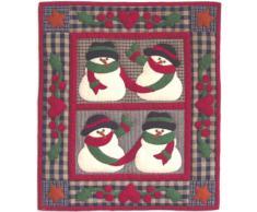 Rachels Of Greenfield - Tapete de pared, diseño muñecos de nieve (33 x 38 cm)