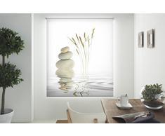 Blindecor Estor enrollable translúcido digital, Zen,W-Z-14991,130X180 cm
