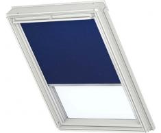 Velux DKL – Estor para VL Y45 en plástico color azul 2055/UNI Premium con rieles de aluminio páginas/DKL Y45 2055s – También válido para Vu/VKU – Tamaño Y45