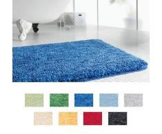 Spirella 40 x 60, Azul colección Gobi, Alfombrilla de Ducha, 100% Polyester-Microfibra
