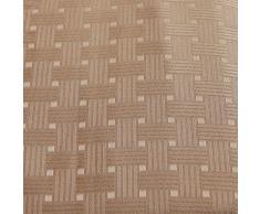 Just Contempo - Juego de Cortinas con Ojales (117 x 137 cm), Color Beige, poliéster, Beige, 2 Cortinas 229 x 183 cm