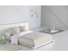 SABANALIA - Funda Nórdica Niza (Disponible en varios tamaños) - Cama 180, Blanco