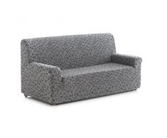 Blindecor Segrelles - Funda de sofá elástica 3 plazas de 170 a 210 cm, color gris