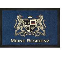 Felpudo/Felpudo/texto/Felpudo/Cassette/en alemán/esterilla/Con/para puerta sörnsen/Astra/Inglés/tapete/esterilla/resistente/texto/para calzado/Schuhabtreter/modelo mi residencia/Felpudo/Astra/agradable sensación/paneles/antideslizante/tamaño
