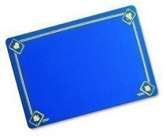 Tapete Clásico Impreso Azul (40 x 27,5 cm)