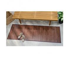 iDesign Tapete para pasillo, bambú, 182 x 61 cm