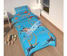 La ropa de cama Disney Planes, microfibra, tamaño 140 x 200/60 x 70 cm