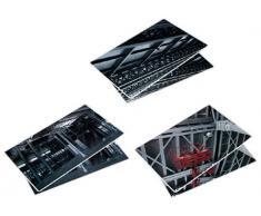 Silea 222/6348 - Manteles individuales, diseño de fábrica