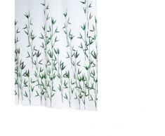 Ridder 473050-350 Bambus - Cortina de ducha de tela (180 x 200 cm), color verde